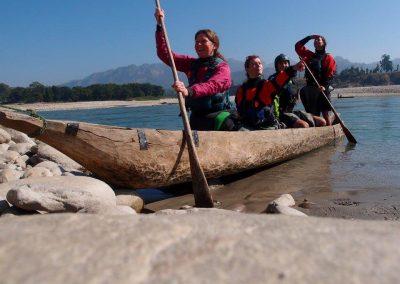 Karnali boat - Nicole Portheim